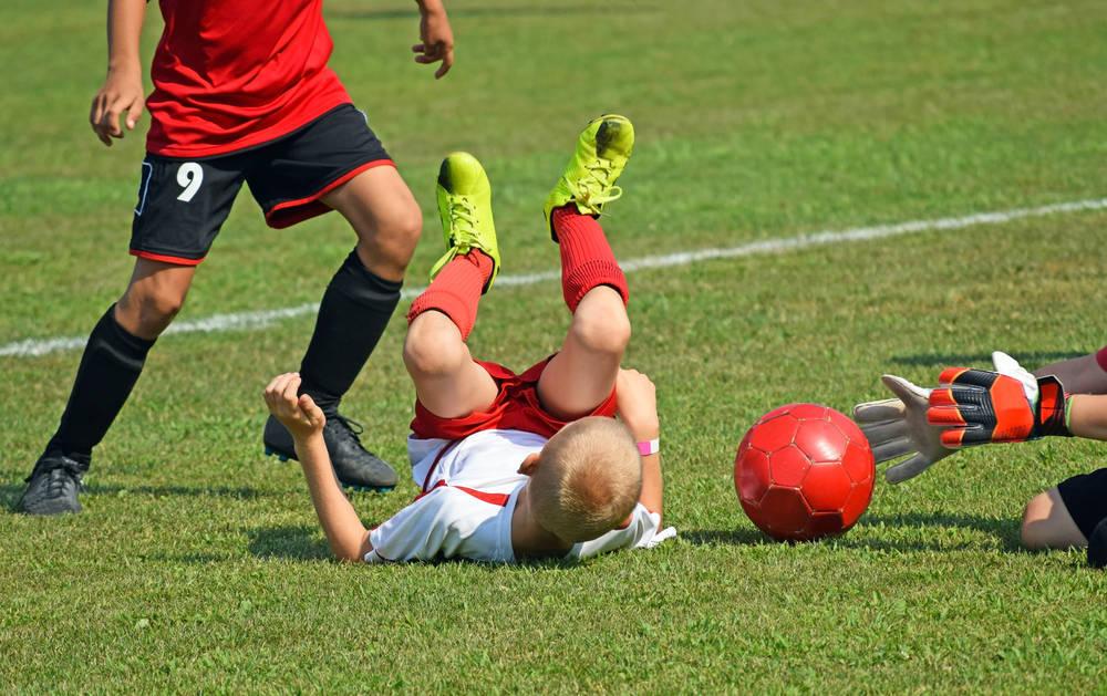 Lesiones deportivas en niños