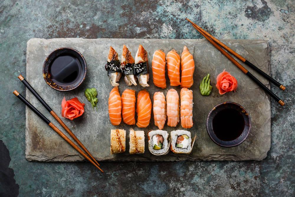 Los Beneficios y peligros del Sushi